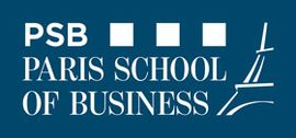 Logo de PSB Paris School of Business.