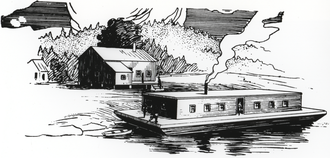 Salmon cannery - The first salmon cannery was established in North America in 1864 on a barge in the Sacramento River.