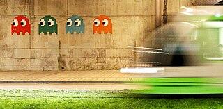 Invader (artist) French urban artist