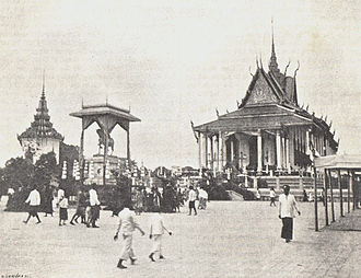 Norodom of Cambodia - The Silver Pagoda was constructed under King Norodom's reign.