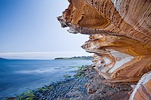 Maria Island-Activities and attractions-Painted Cliffs