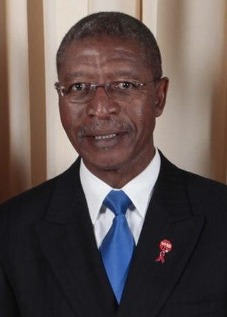2012 Lesotho general election - Image: Pakalitha Mosisili with Obamas cropped