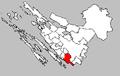 Pakoštane map-Croatia.PNG