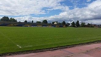 Pakruojis Stadium - Image: Pakruojo Stadionas