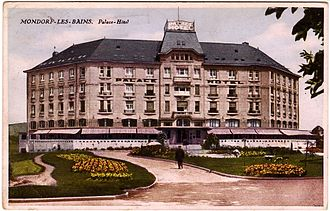 Camp Ashcan - The Palace Hotel before the war.