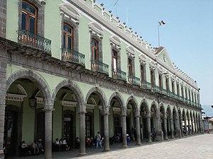 Zacatlán (municipality) - Municipal palace of Zacatlán.