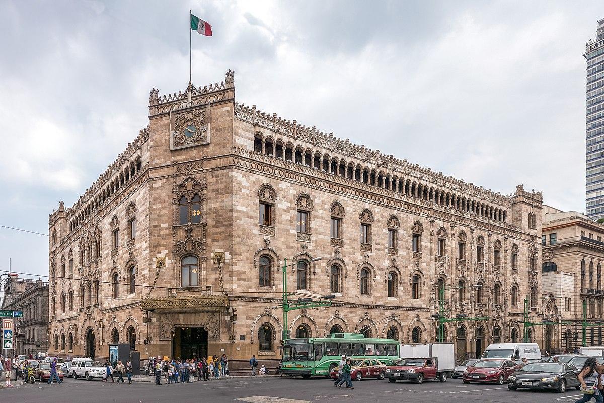 Palacio De Correos De Mexico Wikipedia