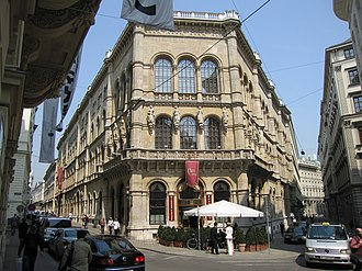 Café Central - Image: Palais Ferstel