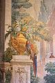 Palazzo pannocchieschi d'elci, scale, affreschi del xviii sec. 02.JPG