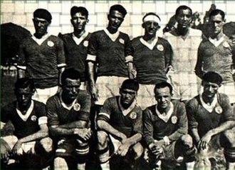 Sociedade Esportiva Palmeiras - Photo of Palestra Italia in 1932