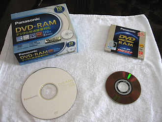 DVD-RAM - A DVD-RAM for DVD recorders