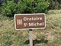 Panneau Oratoire St Michel St André Désert 1.jpg