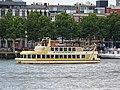 Pannenkoekenboot II (ship, 1999) - Rotterdam - Nieuwe Maas - Willemskade.jpg