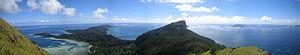 Mount Duff - View of Mount Duff from Mount Mokoto.