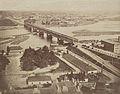 Panorama z wiezy Zamku Królewskiego Konrad Brandel 1873.jpg