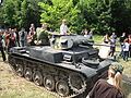 Panzerkampfwagen II during the VII Aircraft Picnic in Kraków 2.jpg