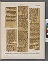 Papyrus. Hieratischer Papyrus. No. II, Vorderseite, Lin. 244-255; Rückseite, Lin. 1-70. (jetzt im K. Museum zu Berlin.) (NYPL b14291191-44339).jpg