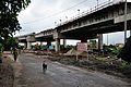Parama-Park Circus Flyover Under Construction - John Burdon Sanderson Haldane Avenue - Science City Area - Kolkata 2012-07-31 0559.JPG