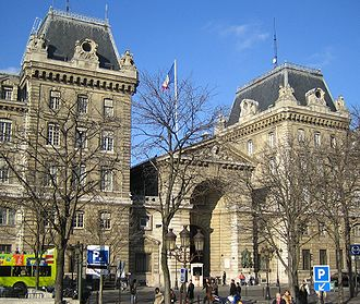 Paris Police Prefecture -  Paris Police Headquarters at Place Louis Lépine, 1 rue de Lutèce, 75004 Paris (métro Cité).