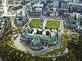 Parliament Hill from a Hot Air Balloon, Ottawa, Ontario, Canada, Y2K (7173715788).jpg