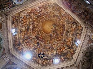 Pier Antonio Bernabei - Cupola Frescoes in Santa Maria del Quartiere.