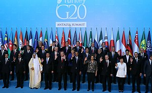 Regional power - Leaders of most regional powers during the 2015 G-20 summit in Antalya, Turkey