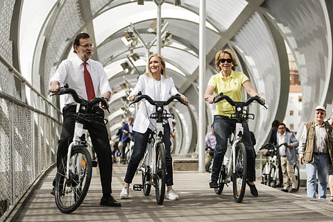 Paseo en bici por Madrid Rio