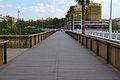 Passarel·la per a vianants del pont de Fusta, València.JPG