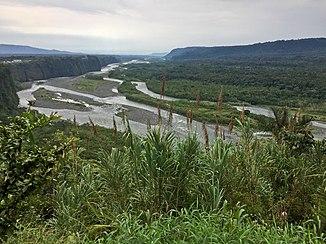 Río Pastaza Mera közelében