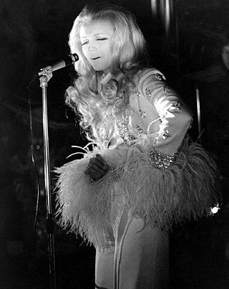 Patty Pravo - Pravo in concert at the Piper Club in Rome, 1969