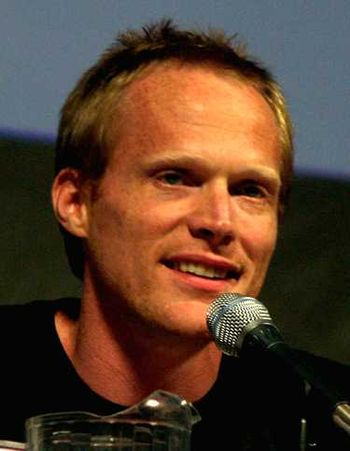English: Paul Bettany promoting the 2010 film ...