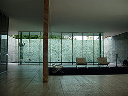 Ludwig mies van der rohe wikipedia for Mies padiglione barcellona