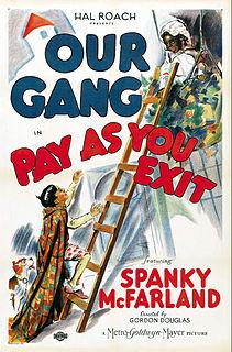 <i>Pay as You Exit</i> 1936 film by Gordon Douglas