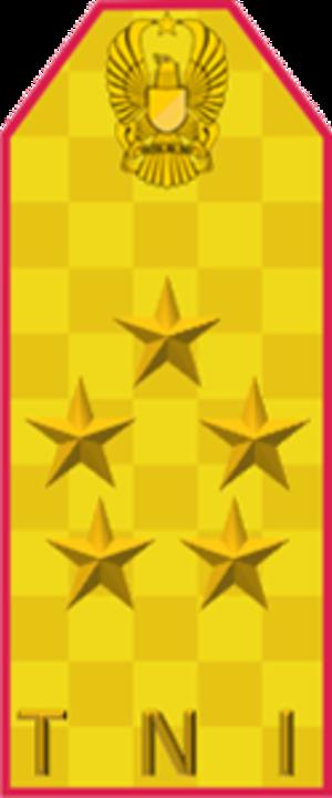Jenderal besar - Shoulder insignia