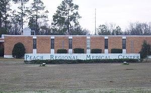 Peach Regional Medical Center - Image: Peach Regional Medical Center