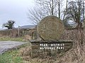 Peak District National Park boundary marker. - geograph.org.uk - 107697.jpg