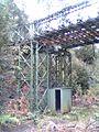 Pedestrian overpass made from bailey bridge on the ABT Railway (3939376712).jpg