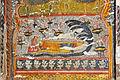 Peinture murale du Raja Mahal (Orchha) (8450826489).jpg