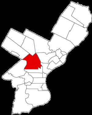 Penn Township, Philadelphia County, Pennsylvania - Image: Penn Twp 1854
