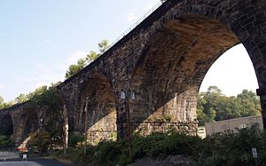 Brilliant Cutoff Viaduct of the Pennsylvania Railroad - Image: Pennsylvania Railroad Company Brilliant Cutoff Viaduct (Pittsburgh, PA)