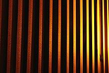 luz en la persiana