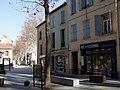 Perspective de l'Avenue Clémenceau depuis le carrefour de la mairie.jpg