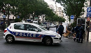 Paris Police Prefecture - Peugeot of the Paris Police Prefecture.