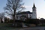 Catholic parish church of St. Martin and churchyard