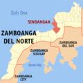 Ph locator zamboanga del norte sindangan.png