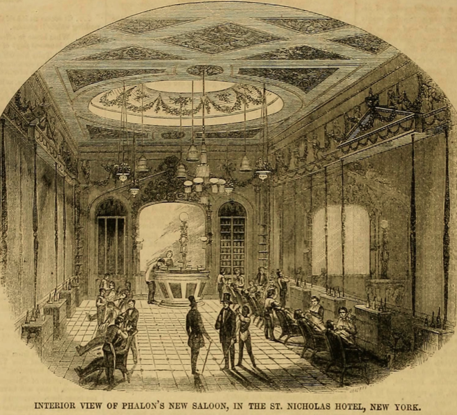 File:Phalon's Hair-cutting Saloon, St. Nicholas Hotel, New York City.tiff