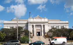 The Lillian Marrero Branch of the Free Library of Philadelphia is located in North Central Philadelphia.