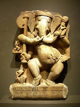 Ganesha - Ganesha, Madhya Pradesh, c. 750, India