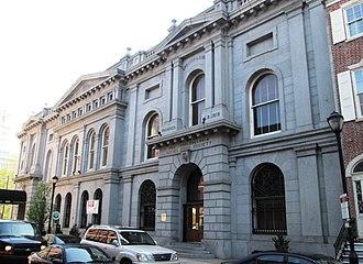 Philadelphia Savings Fund Society - The Society's 1869 headquarters