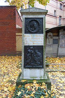Grab auf dem Dorotheenstädtischen Friedhof. (Quelle: Wikimedia)